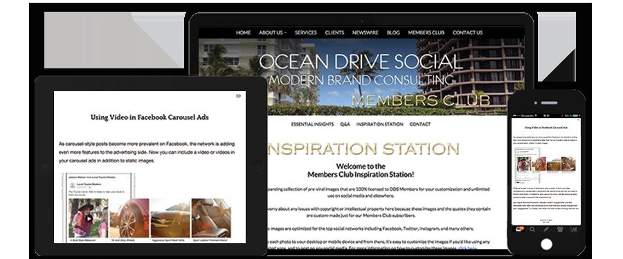 Ocean Drive Social Members Club
